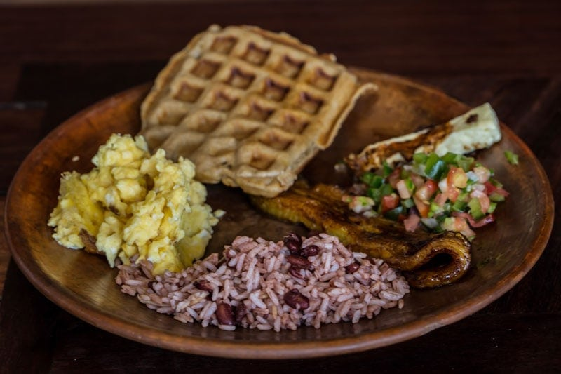 breakfast nicaragua