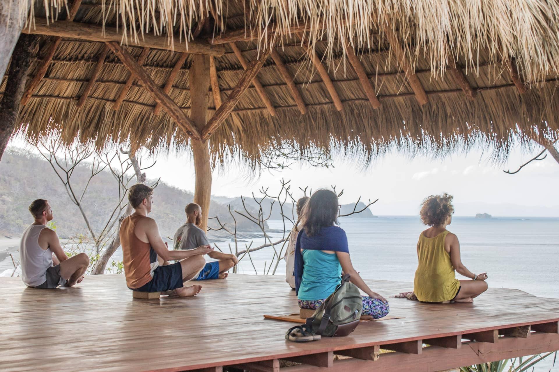 Yoga Shala at Costa Dulce, Nicaragua